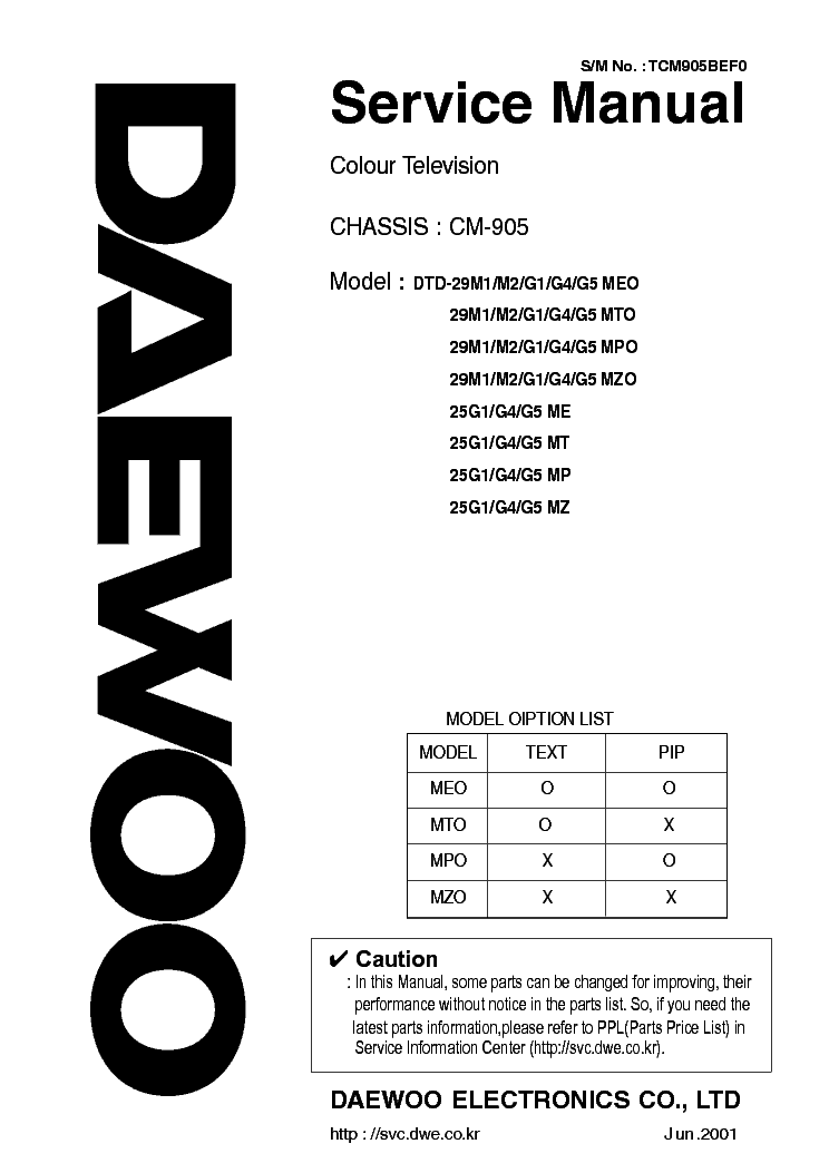 DAEWOO DTH-291F DRIVER FOR WINDOWS