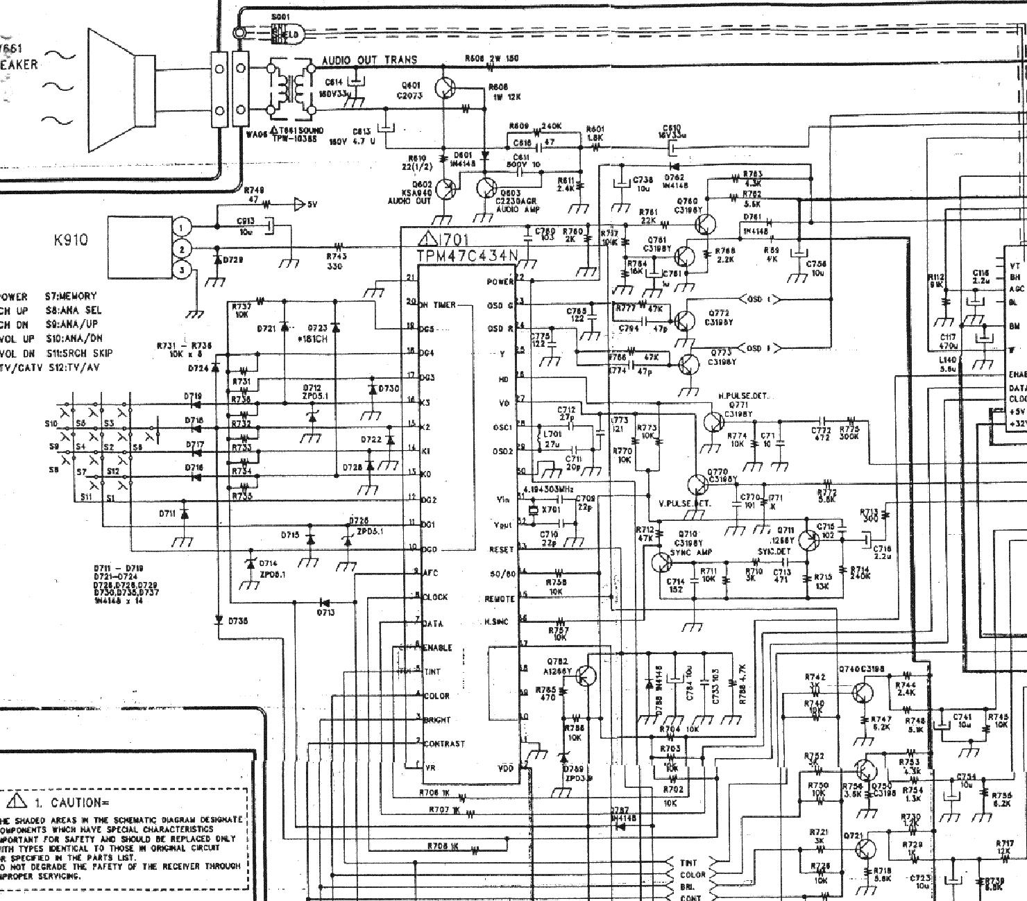 daewoo cn52n service manual download  schematics  eeprom