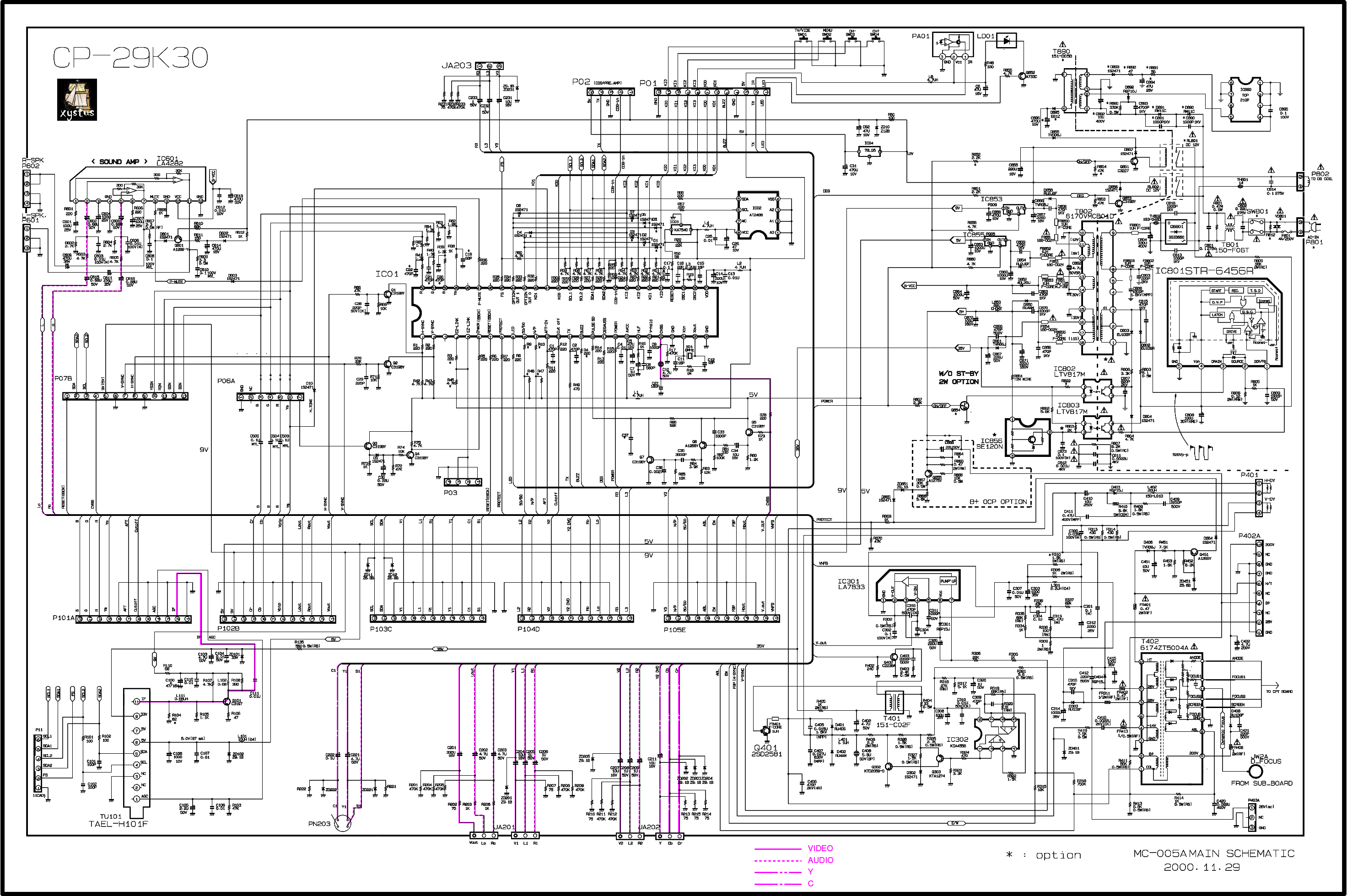 daewoo fel42c1 lcd power supply service manual free download  schematics  eeprom  repair info