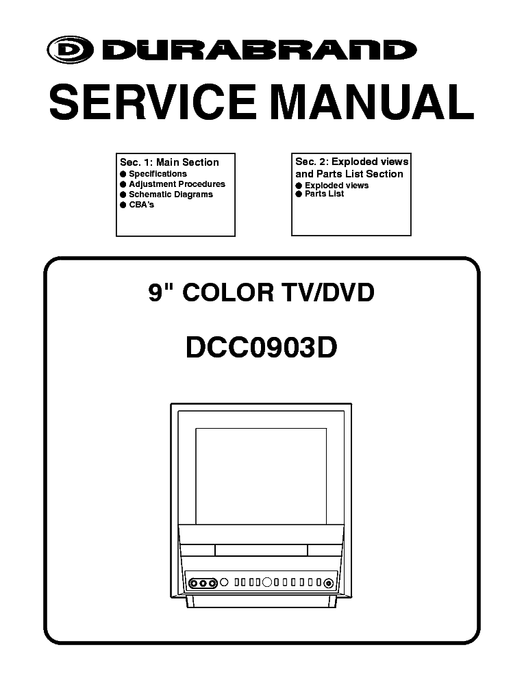 durabrand dct1904r service manual download  schematics  eeprom  repair info for electronics experts