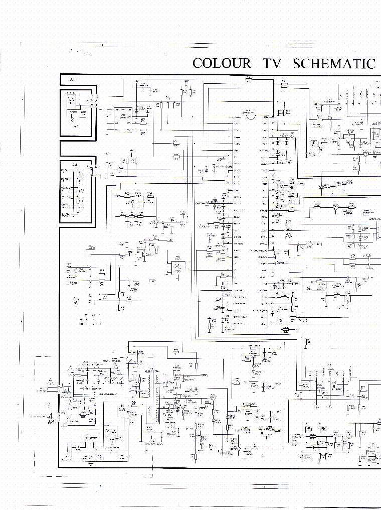 General Electric Model 801 Sch Service Manual Download Schematics