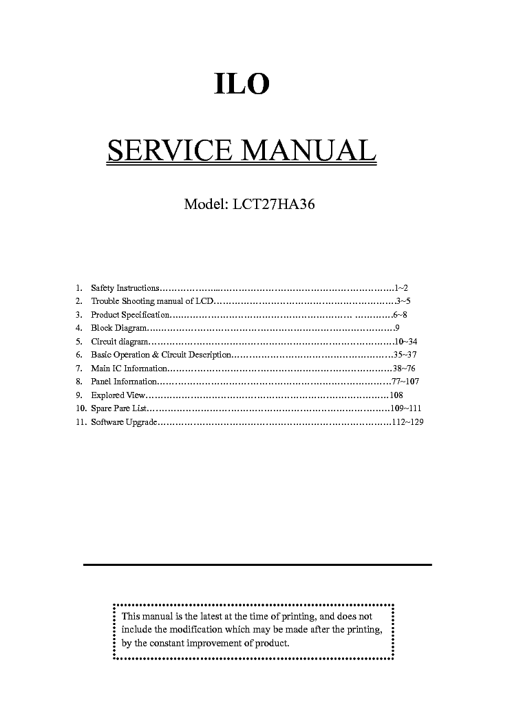 Ilo tv manual user guide manual that easy to read ilo lct27ha36 lcd tv service manual download schematics eeprom rh elektrotanya com 32 ilo tv manual ilo smart tv manual freerunsca Images