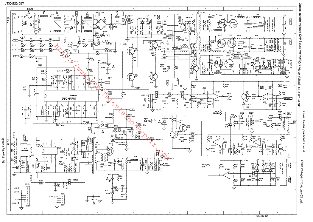 Block Diagram Lcd Tv - Wiring Diagram Completed