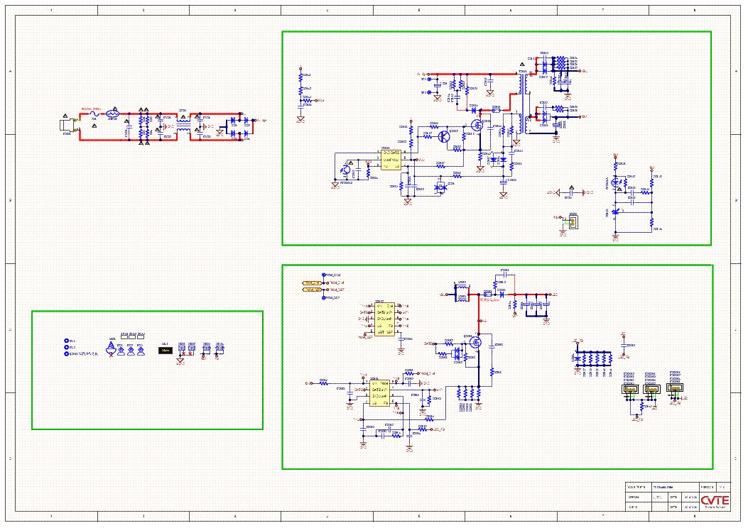 UMC TP MS608 PB831 MAIN SCH Service Manual download, schematics