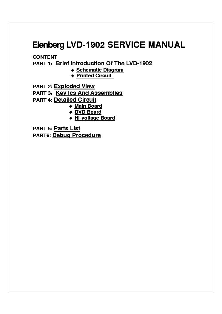 Elenberg lvd 3203 инструкция