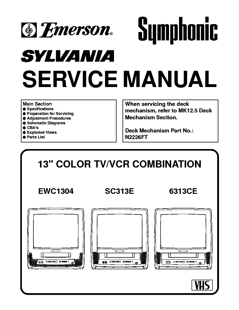 emerson ewc 1304 service manual download schematics eeprom repair rh elektrotanya com