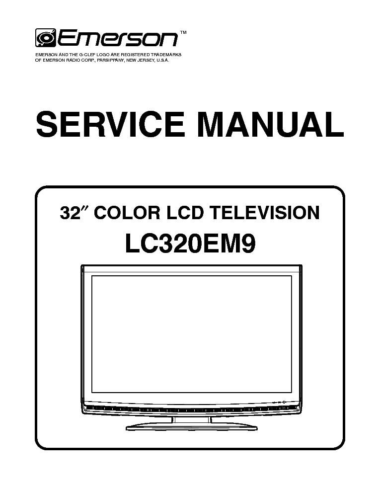 emerson lc320em9 sm service manual download schematics eeprom rh elektrotanya com