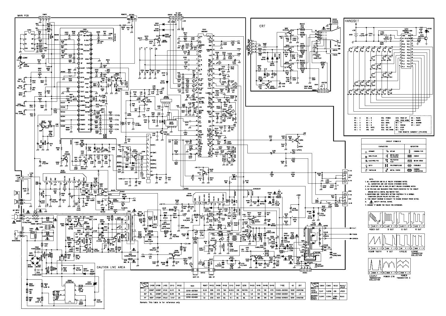 принципиальная схема erisson 1465