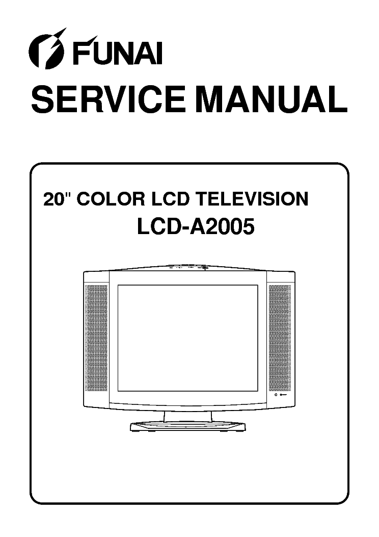 Funai 32 inch Lcd Tv manual