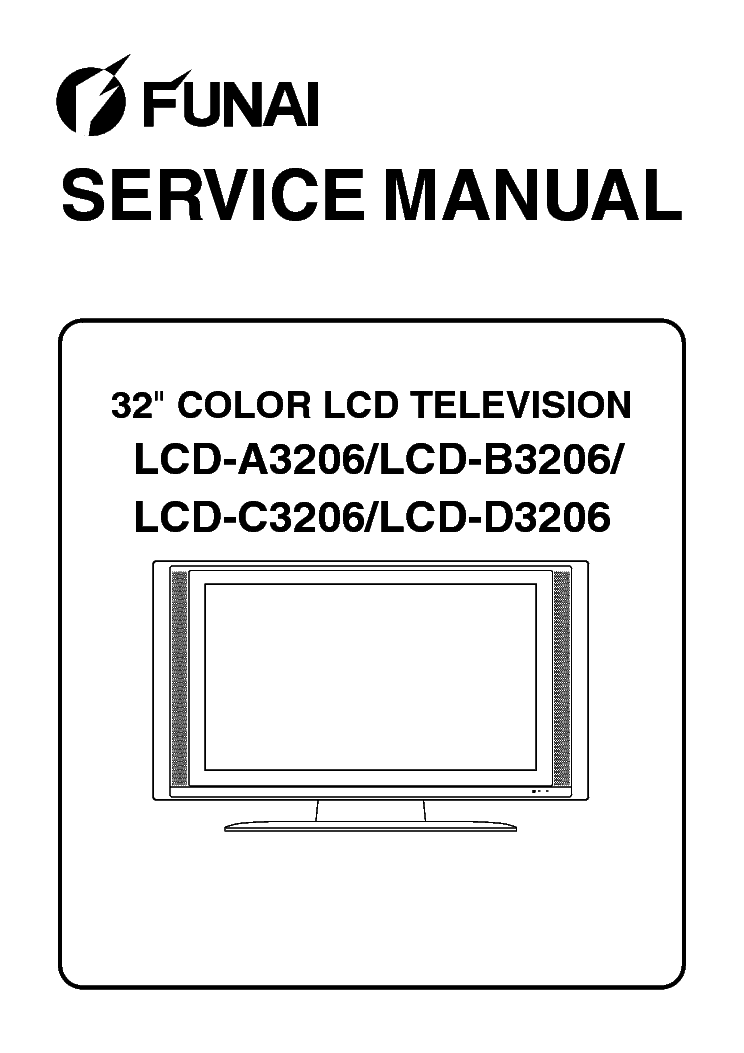 Service manual TV Funai