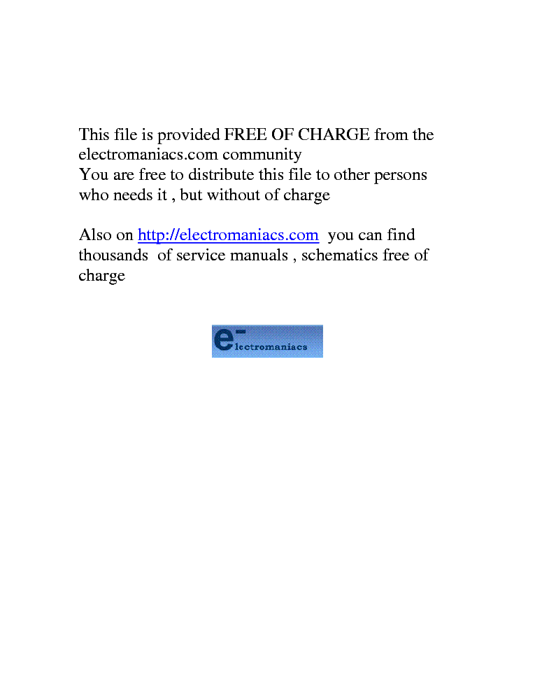 FUNAI MS-21A SM service manual