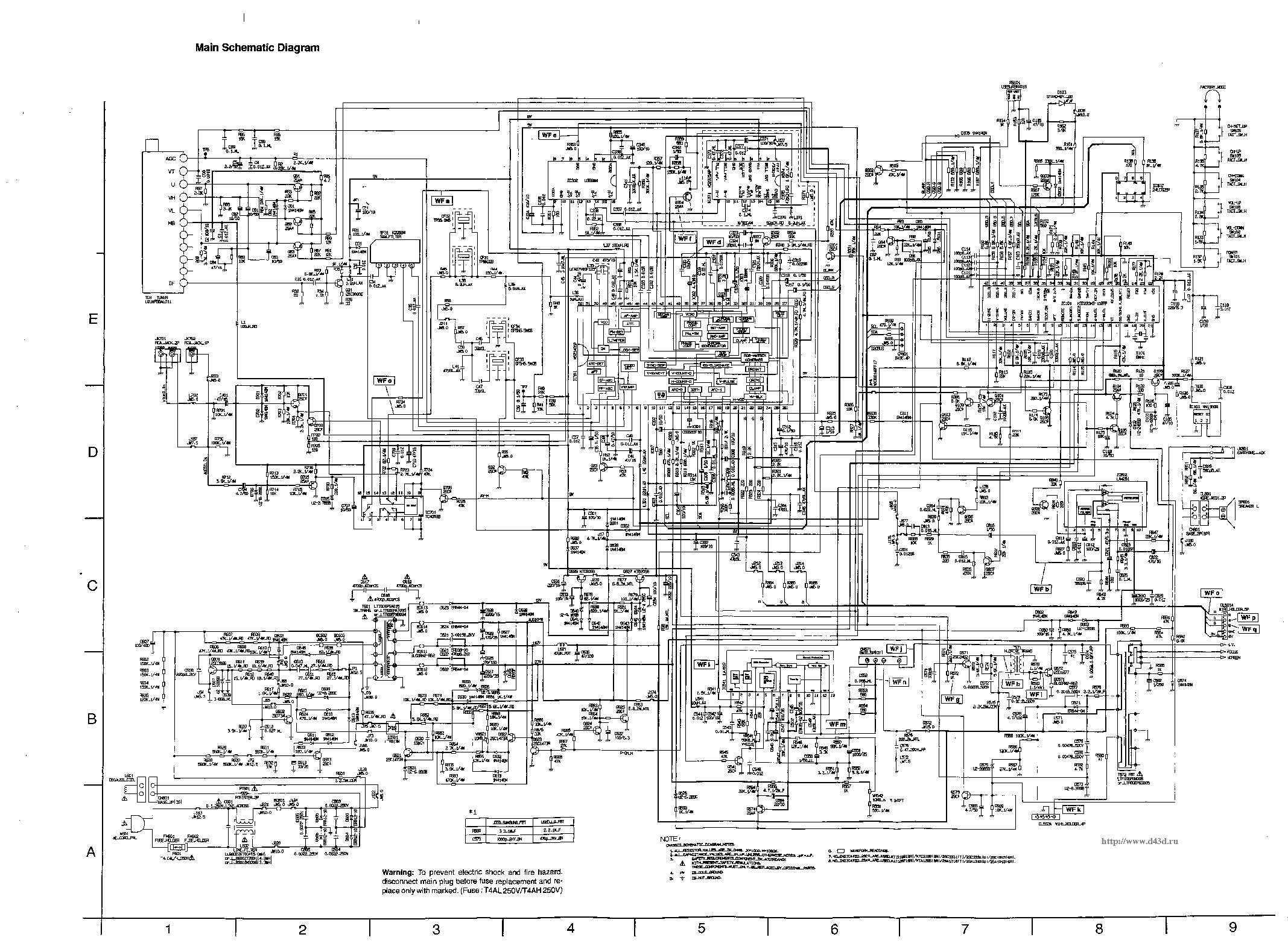 Схема funai 1400a mk10