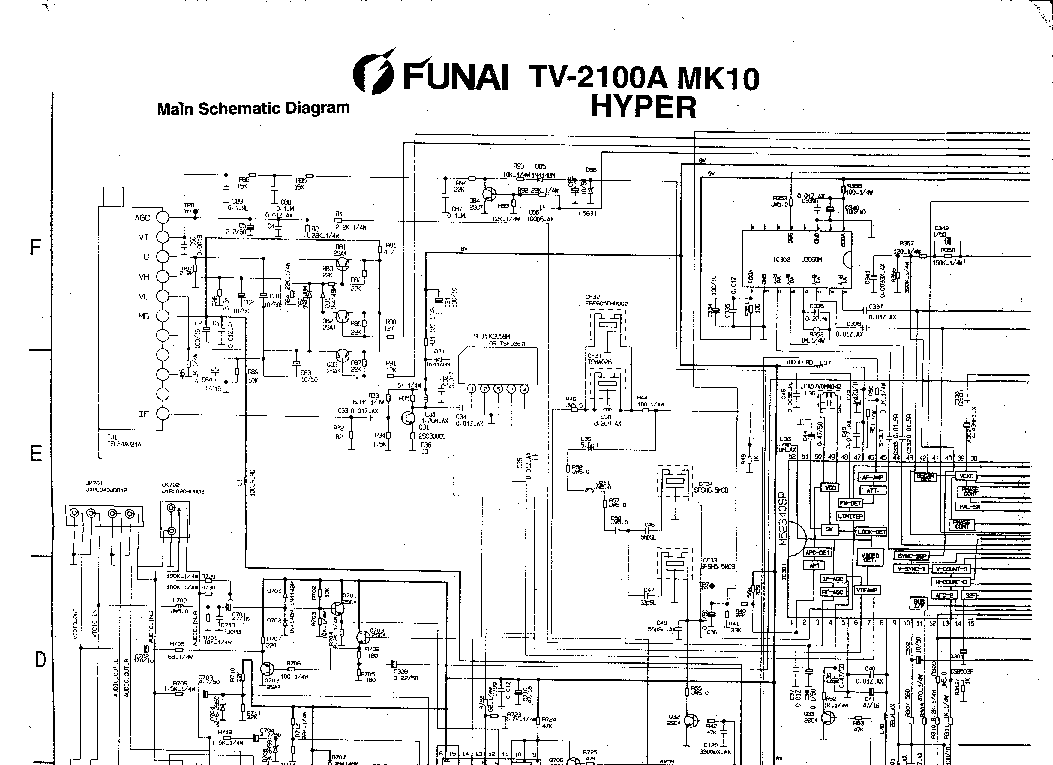 инструкция funai tv-2100 mk8
