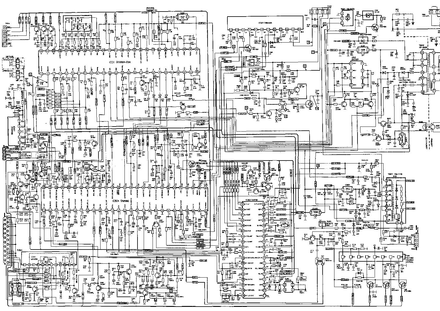 GOLDSTAR CF-14E20B SCH service manual (1st page)