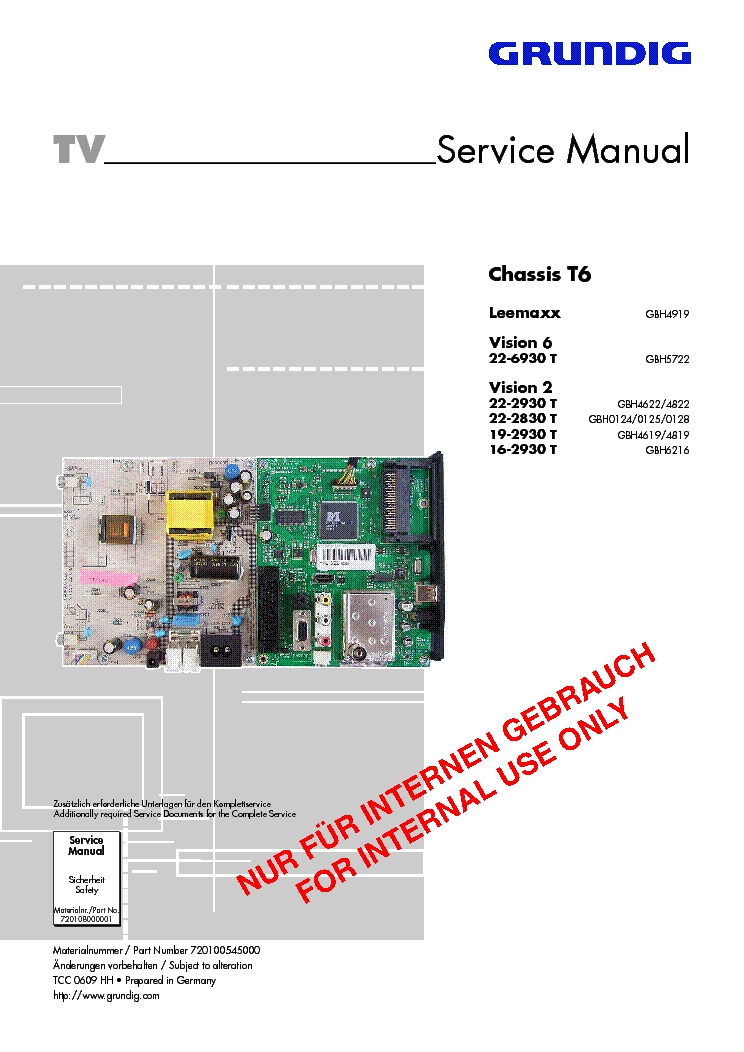 grundig chassis t6 leemaxx vision6 22 6930t vision2 22 2930t 2830 16 rh elektrotanya com vision 6 manual grundig vision 6 manual
