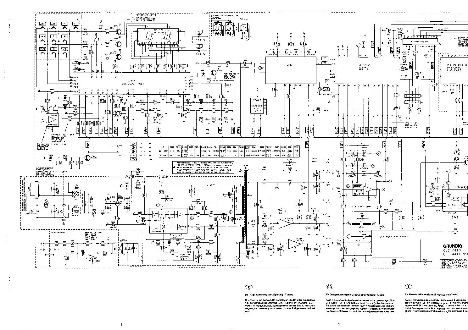 GRUNDIG CUC-4410 SCH service manual (1st page)