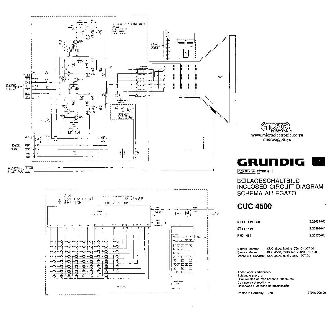 GRUNDIG CUC4500