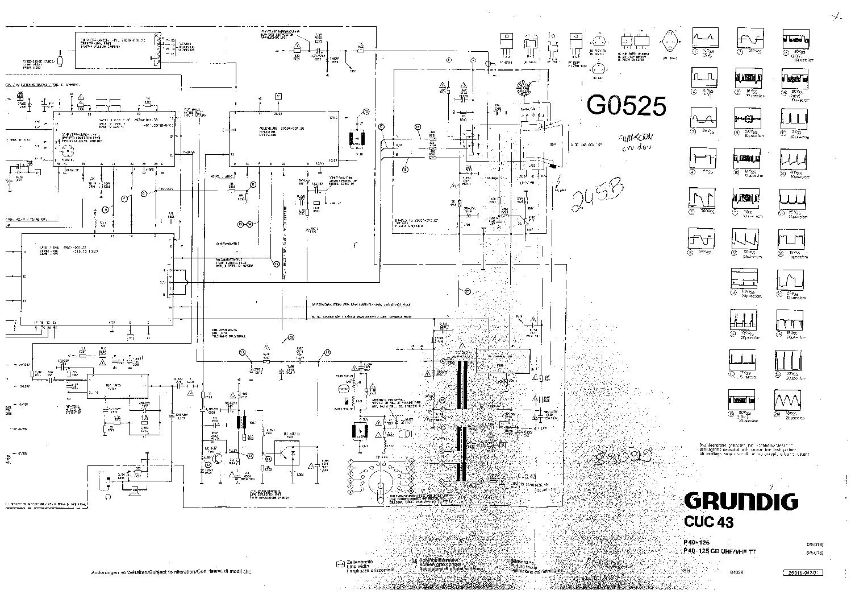 Grundig p37 830 4 text схема