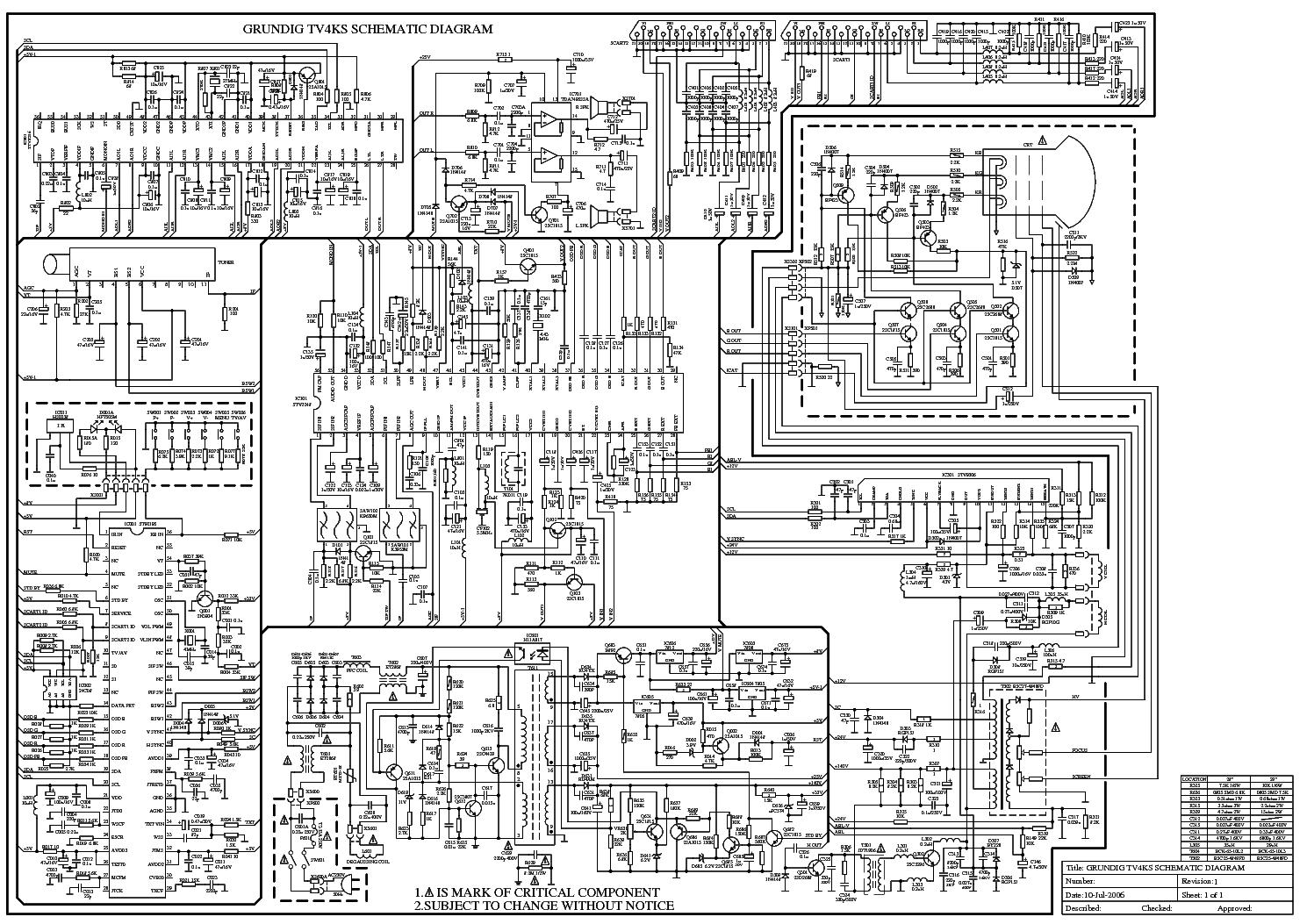 Grundig Tv4ks Service Manual Download  Schematics  Eeprom