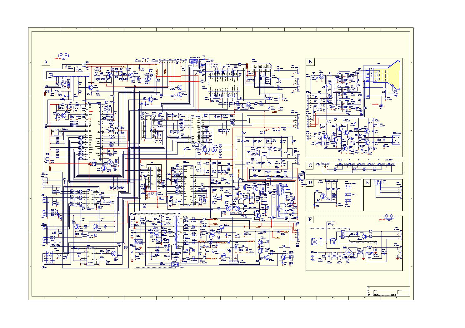 HAIER L39F6 MB95M IDTV SM Service Manual download, schematics
