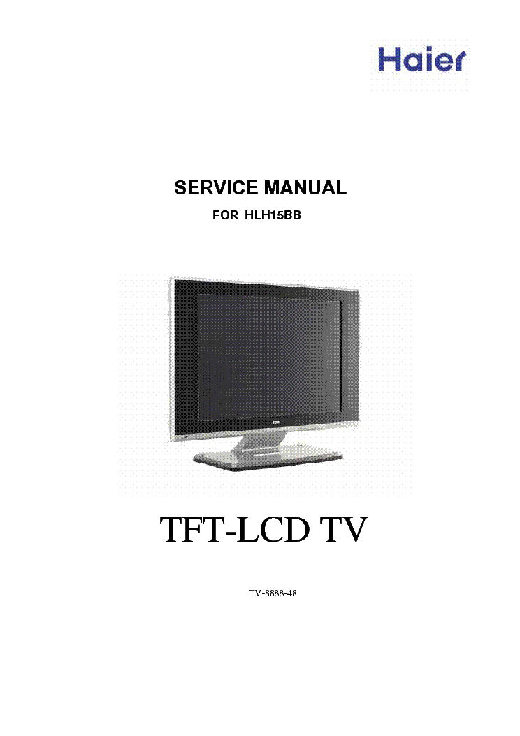 Haier Hlh15bb Service Manual Download  Schematics  Eeprom