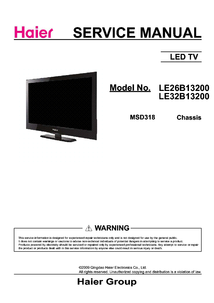 Haier tv manual user guide manual that easy to read haier tv manual fandeluxe Images