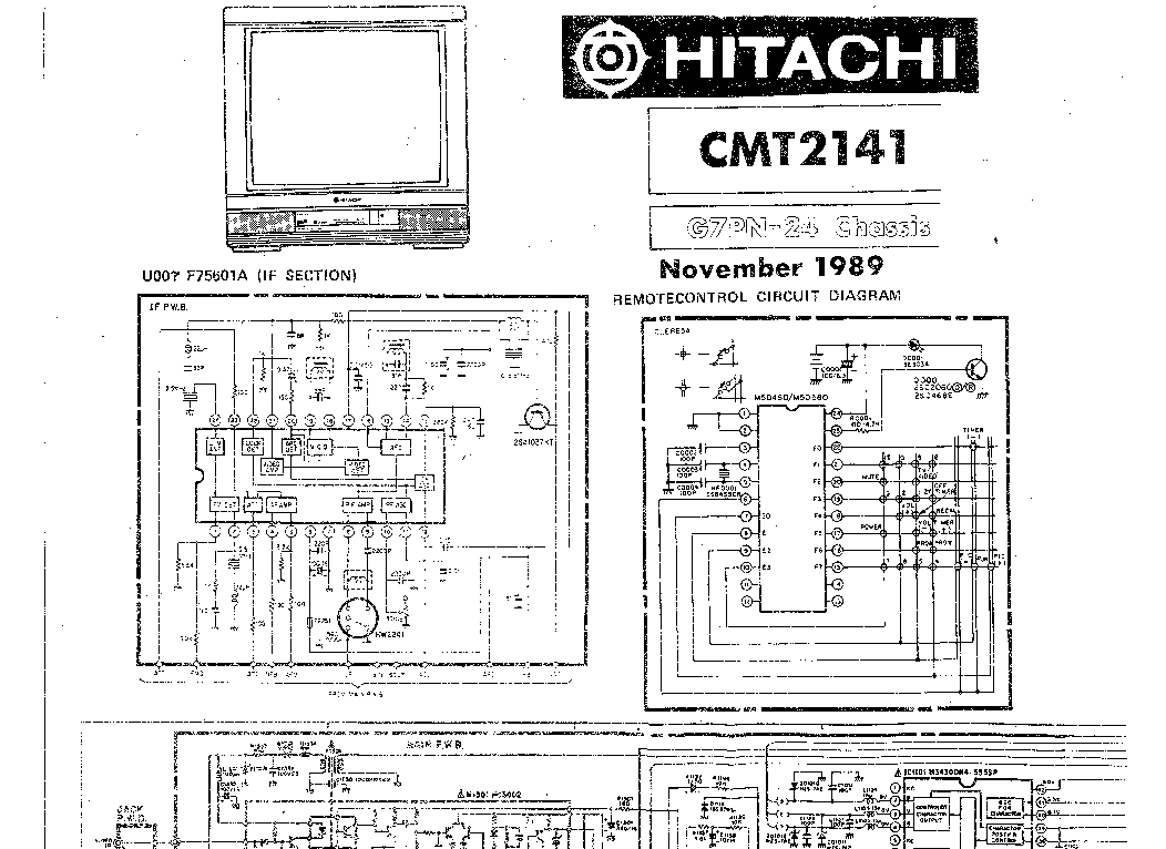 hitachi cmt 2141 sch service manual download schematics eeprom rh elektrotanya com A Simple Battery Circuit Diagram A Simple Battery Circuit Diagram