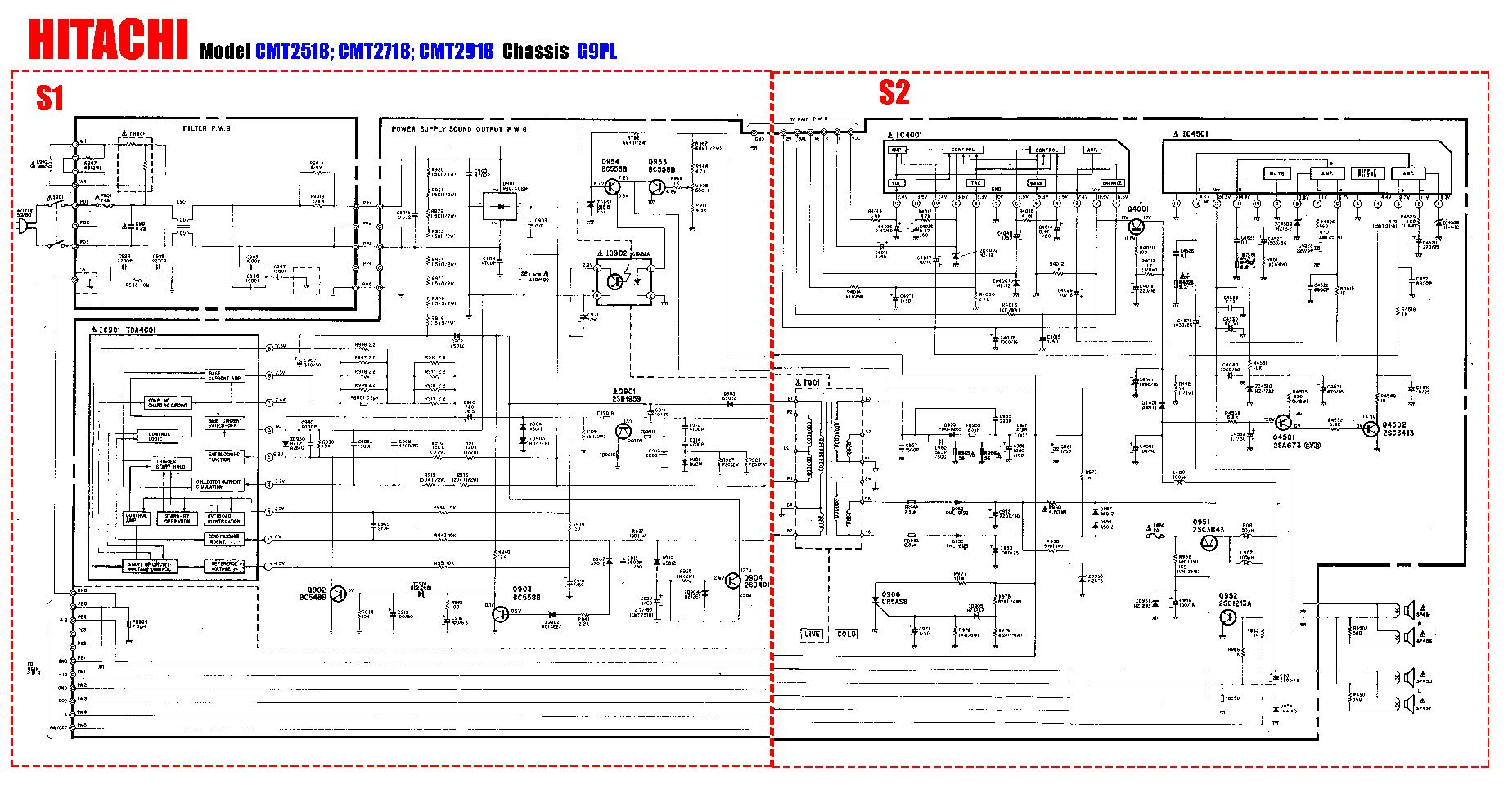 Схемы на телевизоры ролсон