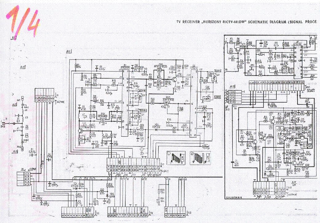 схема телевизоров