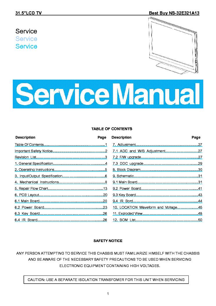 insignia ns 32e321a13 service manual download schematics eeprom rh elektrotanya com Insignia TV Remote Codes Insignia TV Parts