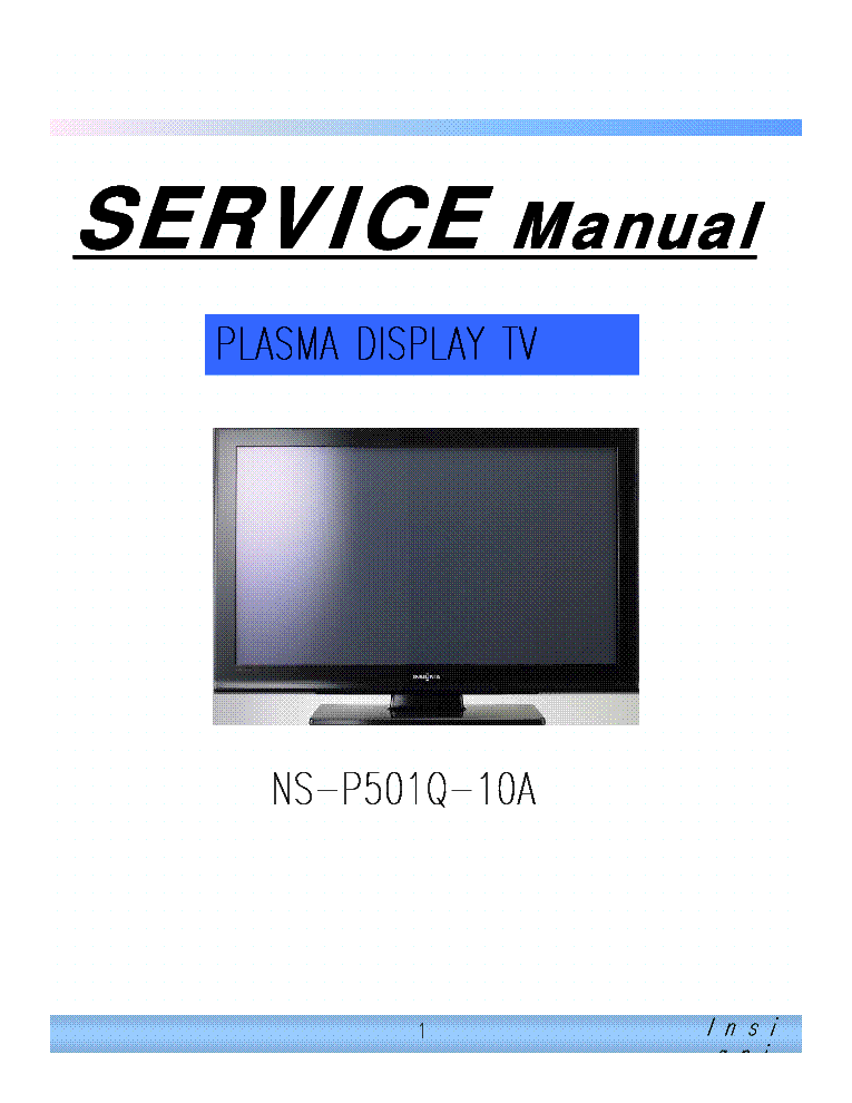 free tv service manuals pdf