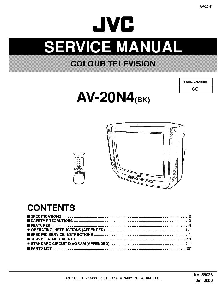 Outstanding Jvc Tv Diagram Basic Electronics Wiring Diagram Wiring 101 Mecadwellnesstrialsorg