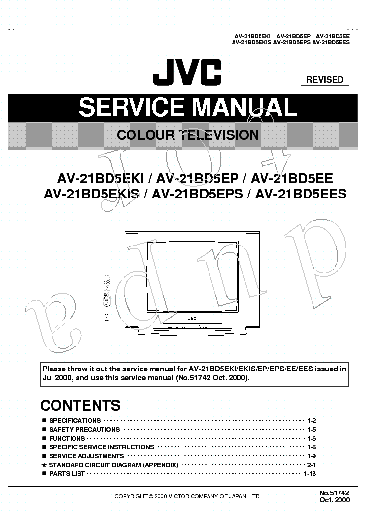 Jvc service manuals free download ebook jvc electronics repair array av48p777 owner manual rh pgemejg jottit com fandeluxe Choice Image