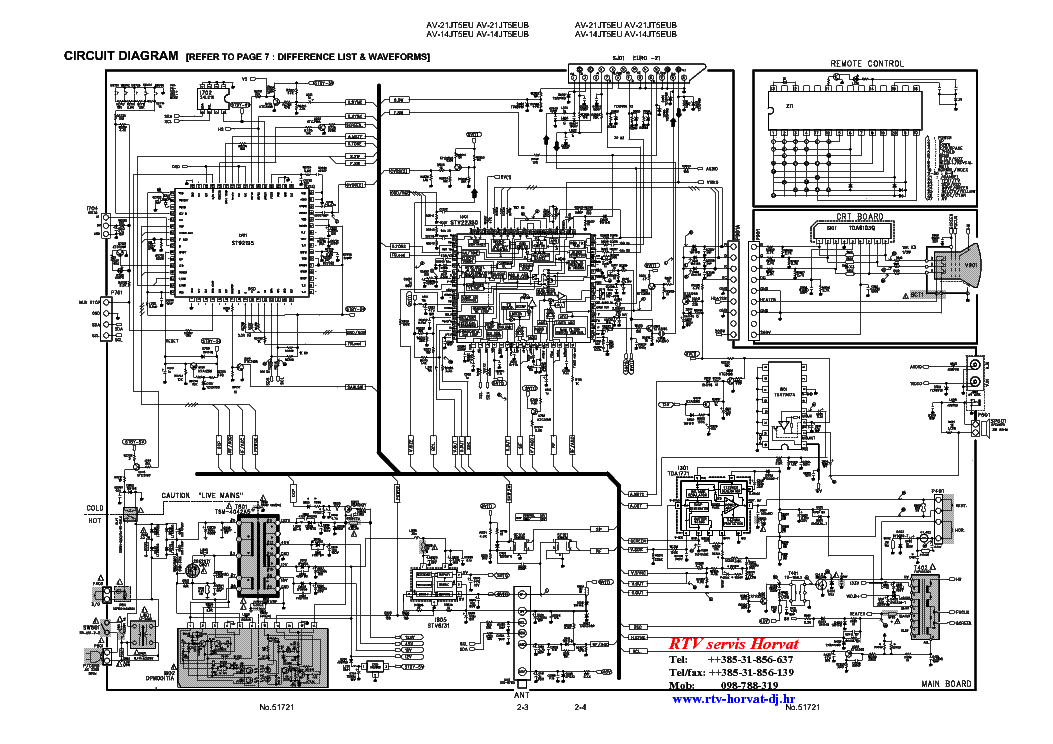JVC AV-21JT5EU CHASSIS CP005 service manual (2nd page)