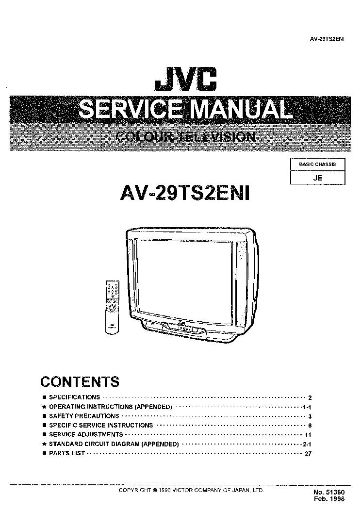 jvc av 48p575 av 56p575 av 56p585 tv wiring diagrams