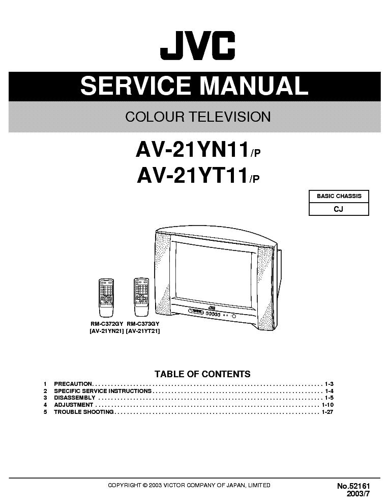Manuals  Hitachi Cj 110v Repair Service Manual  Pdf  Full Version Hd Quality Service Manual