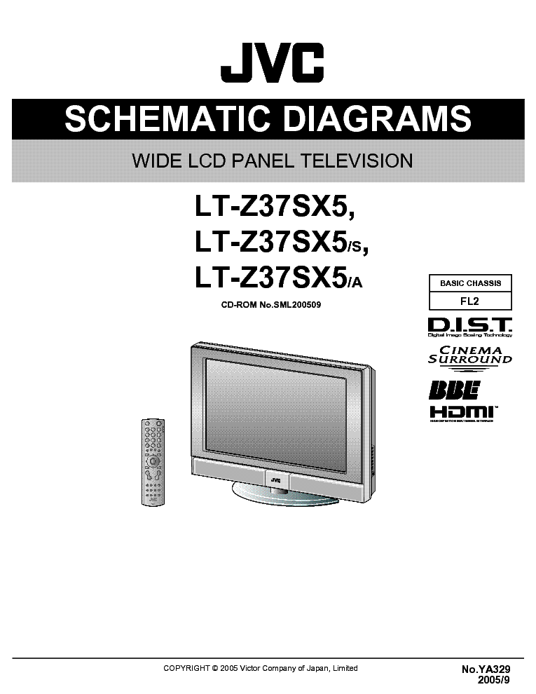 jvc lt z37sx5 schematic diagrams service manual download schematics rh elektrotanya com