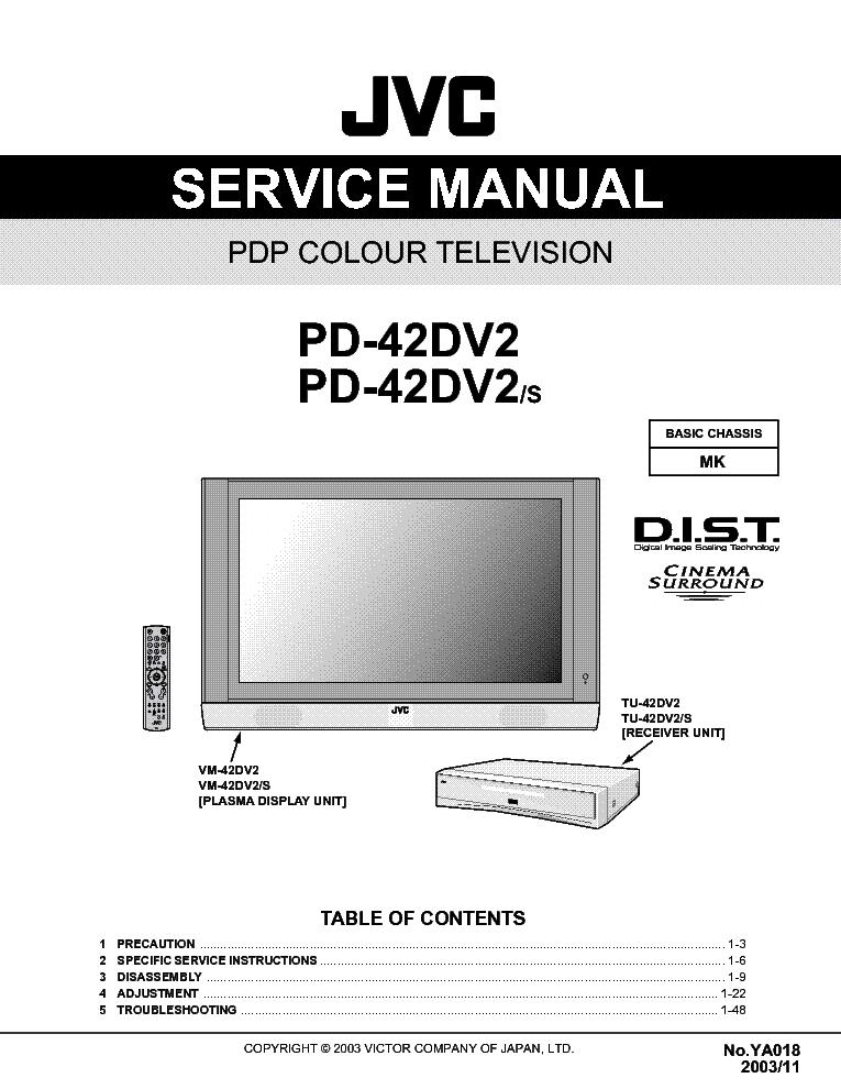 jvc lt 20e50su lcd tv schematics service manual free. Black Bedroom Furniture Sets. Home Design Ideas