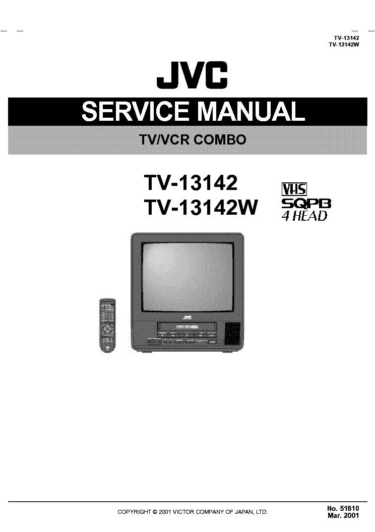 jvc tv 13142 w service manual download schematics eeprom. Black Bedroom Furniture Sets. Home Design Ideas
