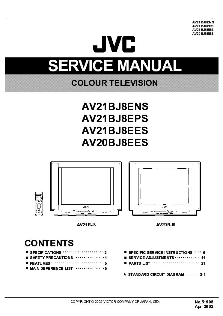 jvc tv av20bj8ees service manual download schematics eeprom rh elektrotanya com JVC TV ManualsOnline jvc tv service manual pdf