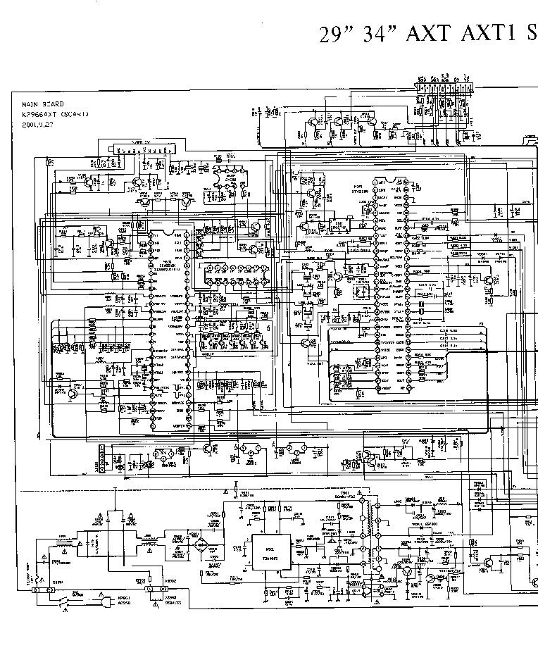 konka tv k2966 tv k3466tx schematic service manual download rh elektrotanya com tv schematic diagram pdf tv schematic download