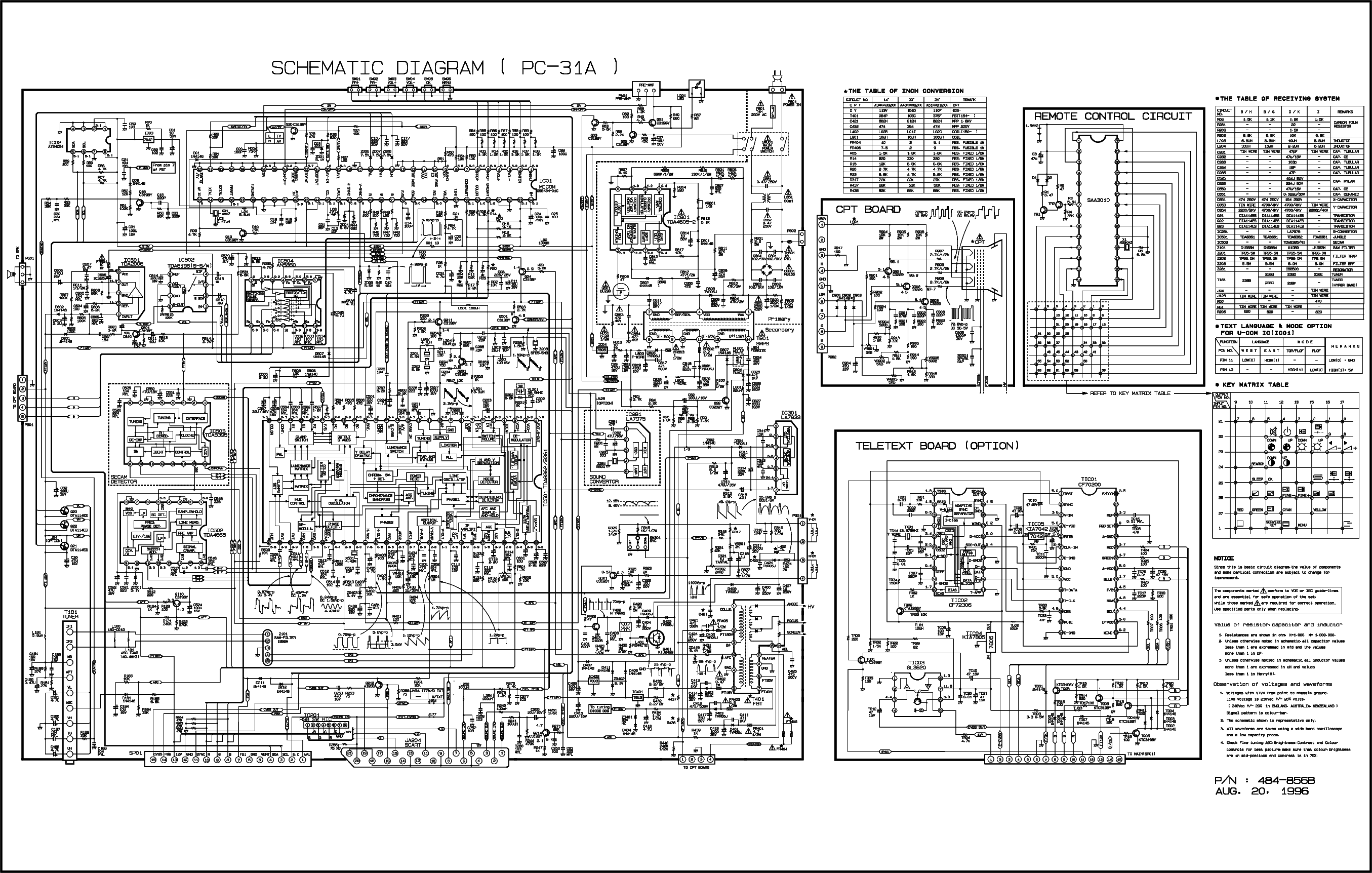 lg chassis pc31a service manual download  schematics