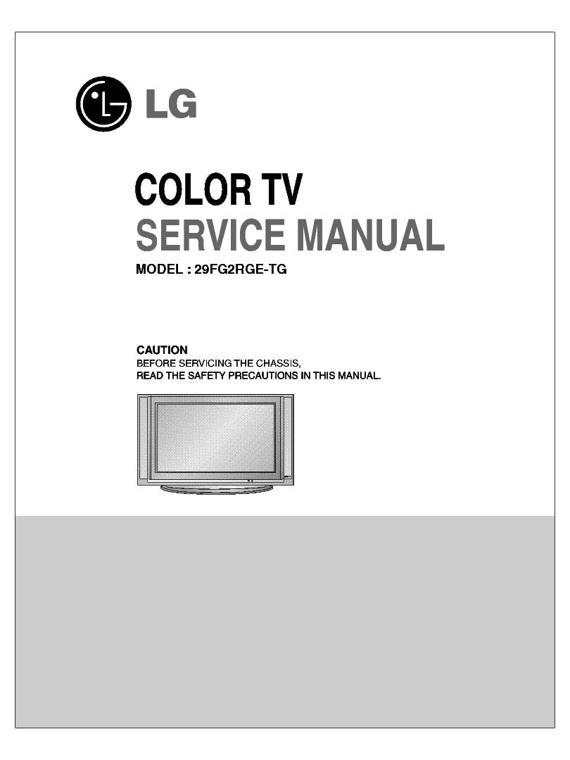 lg 29fg2rge tg chassis cw62a service manual download. Black Bedroom Furniture Sets. Home Design Ideas