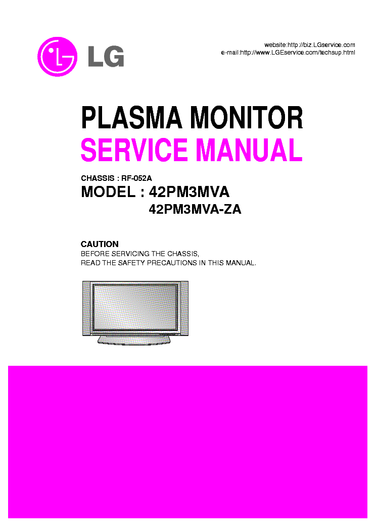 Lg 42pm3mva Za Service Manual Download Schematics Eeprom Repair Info For Electronics Experts