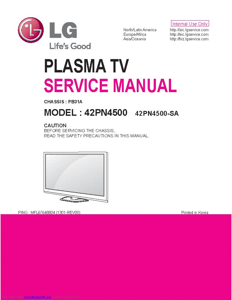 Lg 29fu1rl 29fu1rg Chassis Cw 91a Mfl62077307 Service Manual Download Schematics Eeprom Repair Info For Electronics Experts