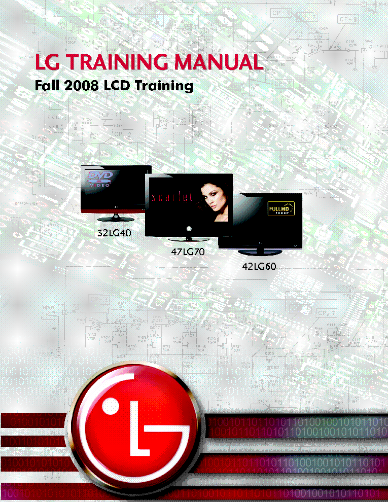 LG 47LG70 TRAINING-MANUAL SM service manual (1st page)