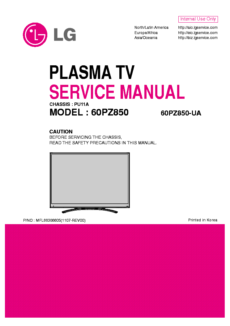 lg tv service manual pdf free download