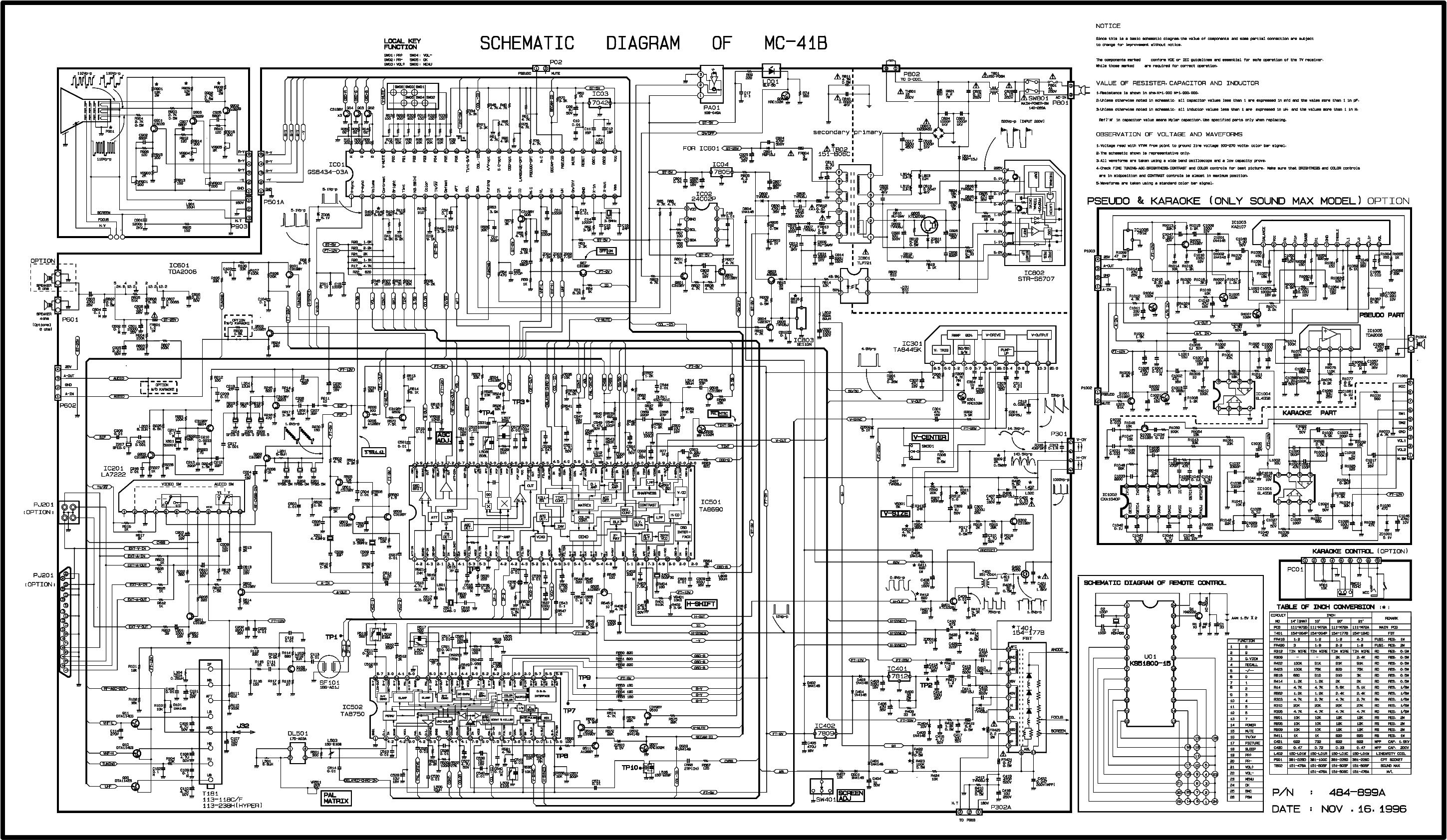 LG 21FU8RGE-TS CHASSIS MC-059C Service Manual download, schematics