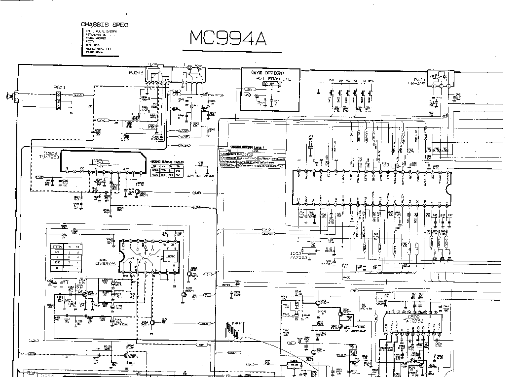схема принципифльная lg 42pc1rv