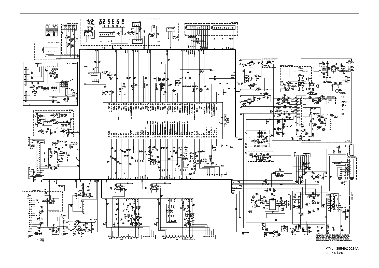 LG CHASSIS CW-62A SCH service manual (1st page)